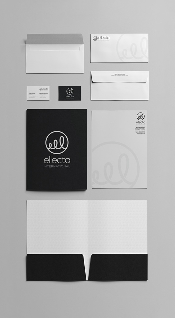 Cloudly Labs - Ellecta International - Stationery design