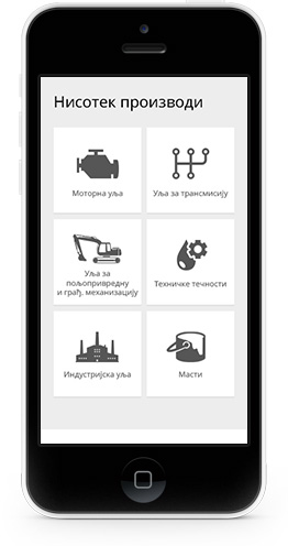 Cloudly Labs - NIS Gazprom Neft - Nisotec Mobile Website