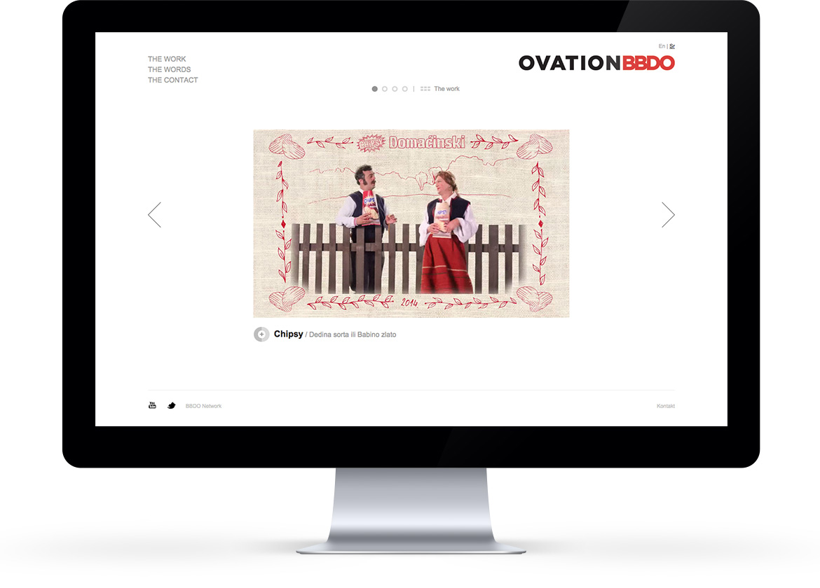 Cloudly Labs - Ovation BBDO - Final homepage design